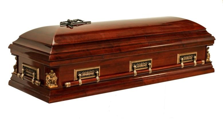 The Pieta Casket - Stan Crapp Funerals